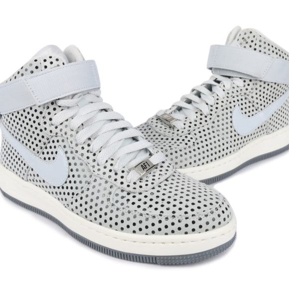 Air Force One Ultra Force Mid Sneak Pure Platinum